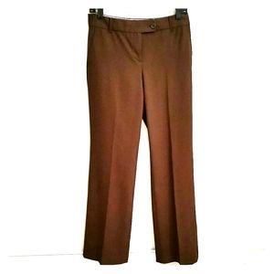 Ann Taylor LOFT Brown Dress Pants Size 0